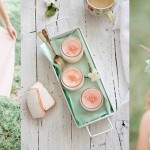Inspiration Board: Mint & Peach