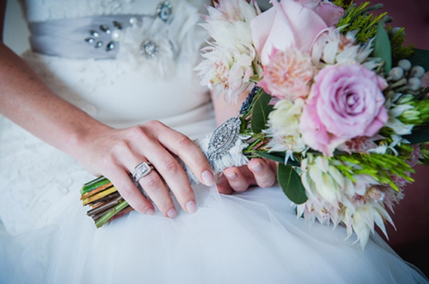 Southboundbride blushing bride proteas 009 SouthBound Bride