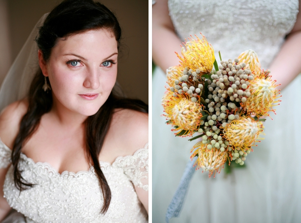 Pincushion Protea Bouquet | Image: As Sweet As Images