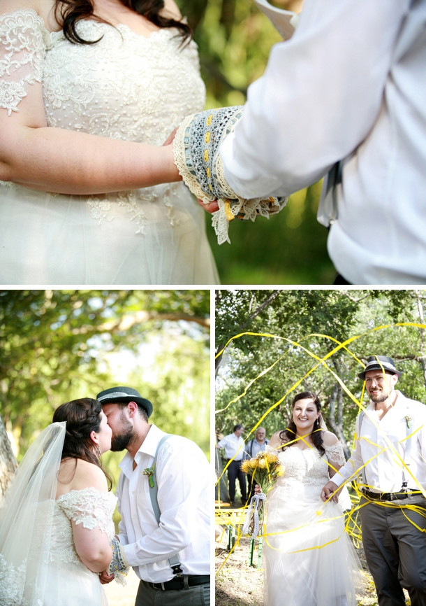 Handfasting Ceremony | Image: As Sweet As Images