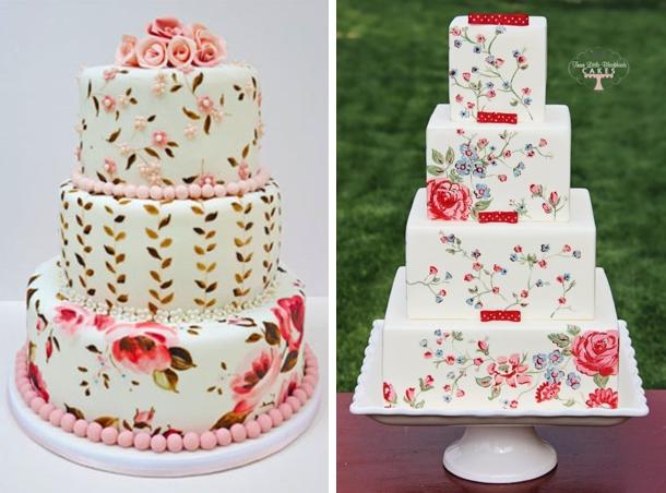 Buttercream Painting Cake Decorating Ideas