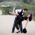 Tim Burton Inspired Engagement Shoot
