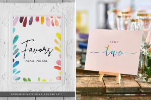 rainbow wedding ideas