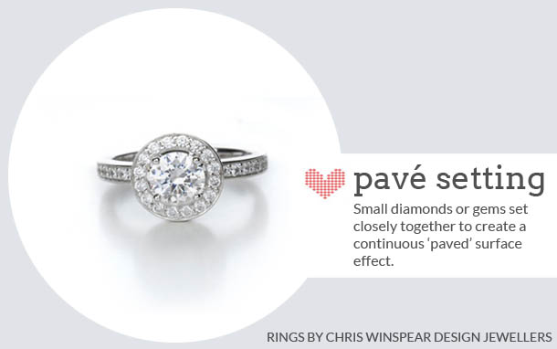 engagement ring terminology with chris winspear