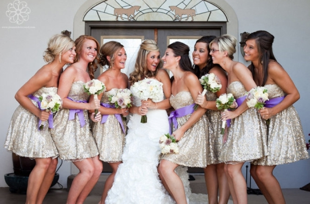 Sequin Bridesmaid Dresses