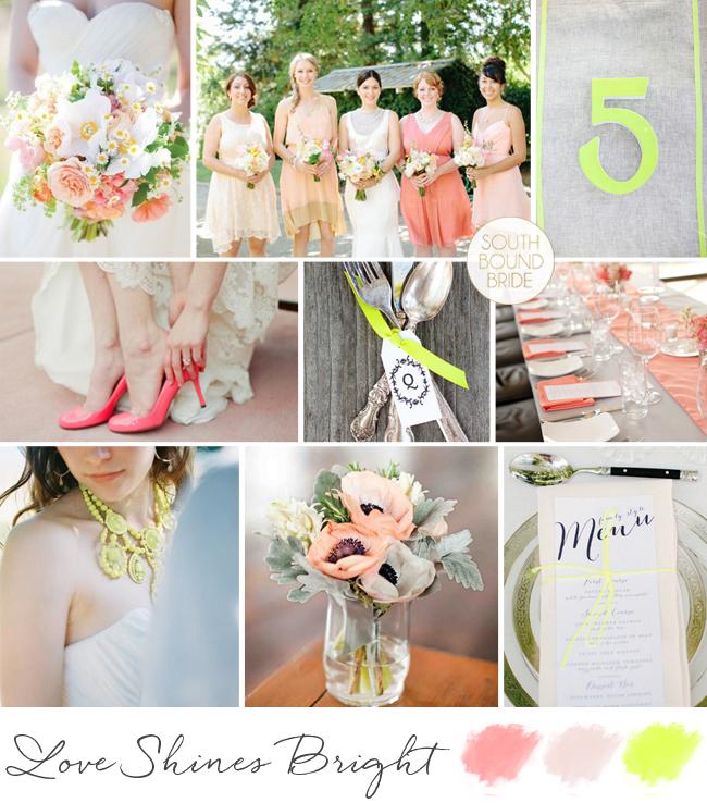 Neon Rustic Wedding Inspiration | SouthBound Bride