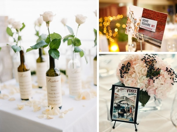 Unique Travel Wedding Table Names