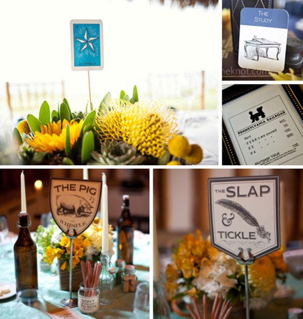Wedding Table Name Ideas