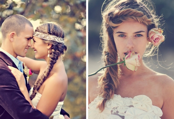 Boho Hairstyle Inspiration 006 Southbound Bride