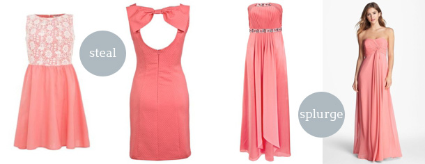 Coral Bridesmaid Dresses 02