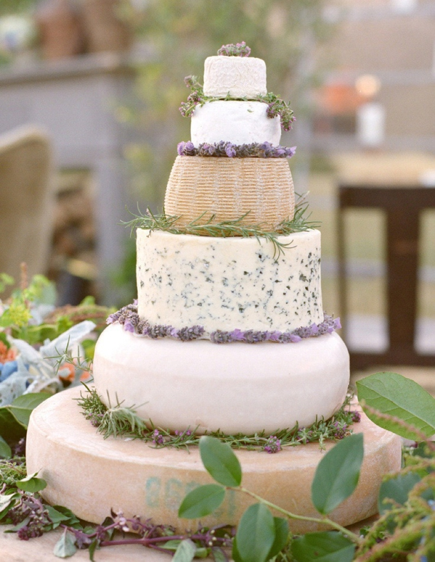 Cheese Wedding Cake For
