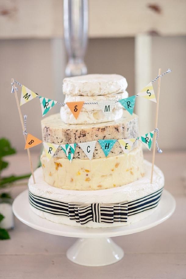20 Cheese Wedding Cakes