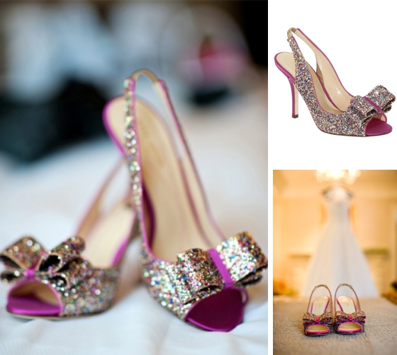 c5f401f053d8 Sparkly Wedding Shoes from Kate Spade