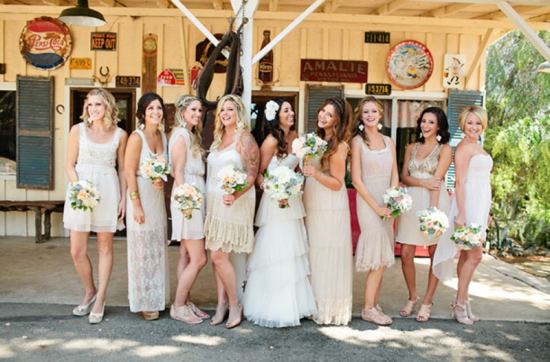 Southboundbride Mismatched Neutral Bridesmaids 018