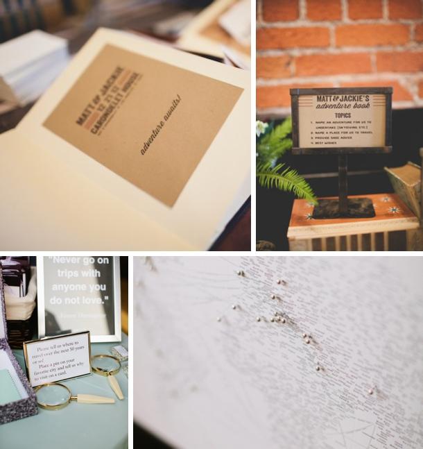 Travel Themed Wedding Ideas