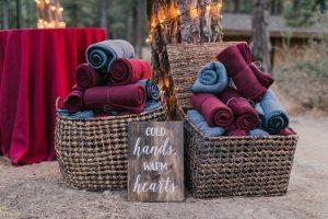 Winter Wedding Favour Ideas