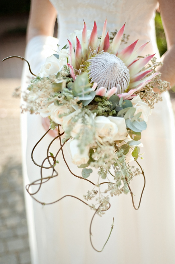 L Amp S006 Protea Brunch Wedding Cc Rossler Bouquet