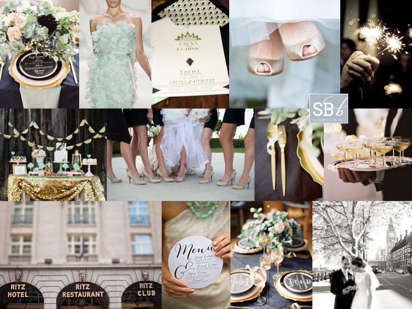 Top Row L R Place Setting Ed Osborn Photography Mimi Nicole Events Mint Dress Monique Lhuillier Invitation Umama On Etsy Gold Shoes Liesl