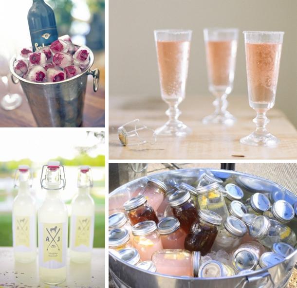 Kentucky Derby Themed Bridal Shower Food & Drink