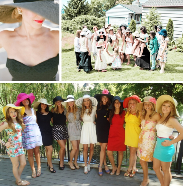 Kentucky Derby Themed Bridal Shower