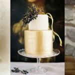 Sparkle & Metallic Wedding Cakes