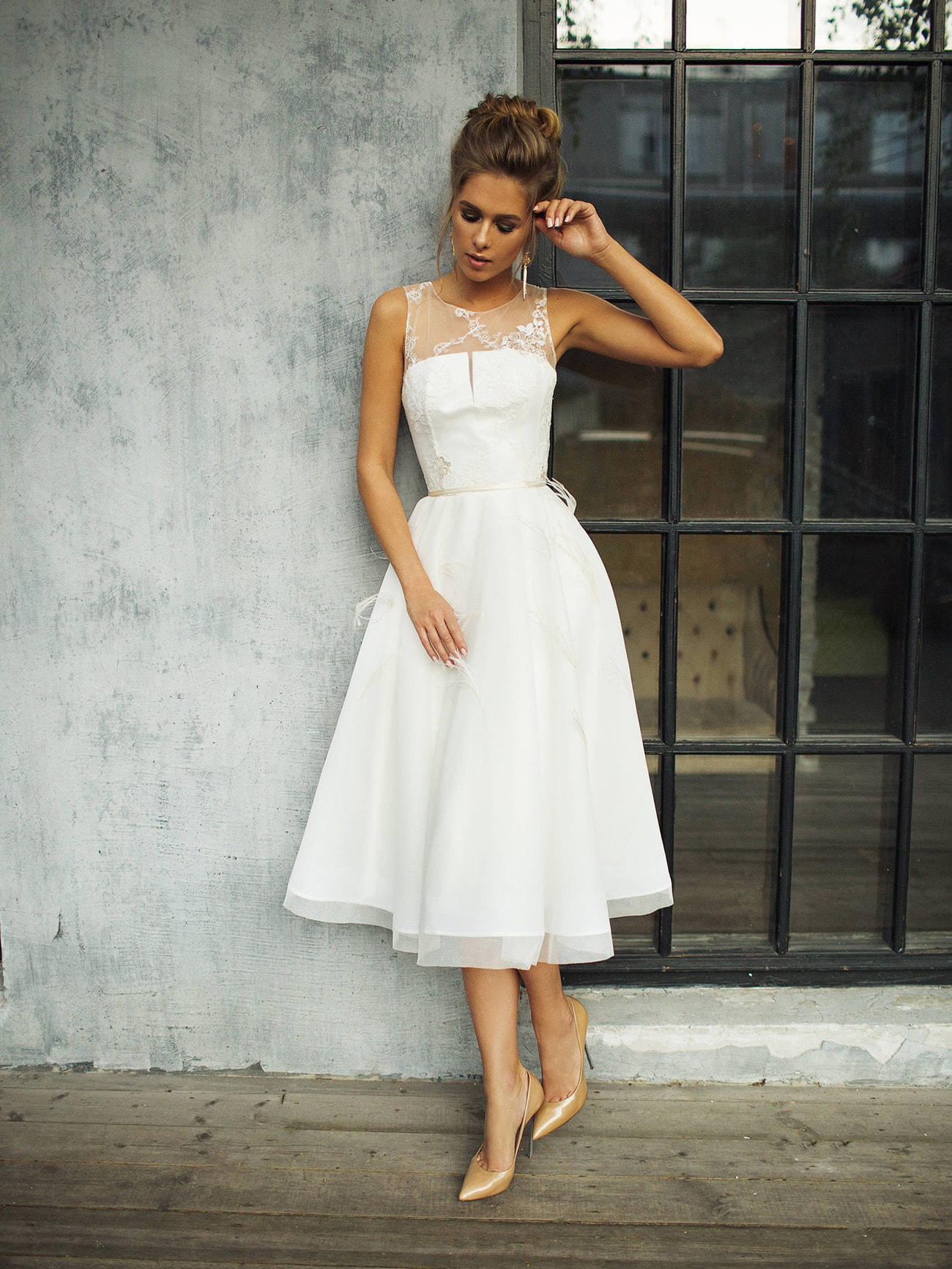 Short Wedding Dress For Pear Shaped Body Southbound Bride