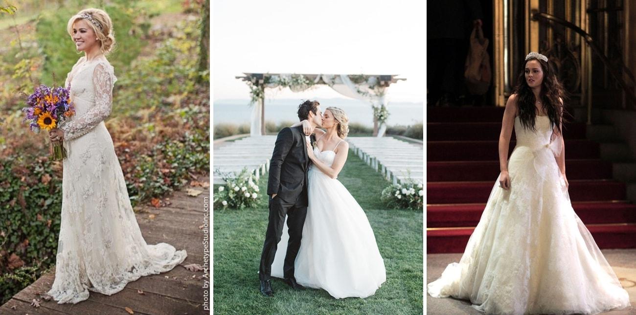 Celebrity Pear Shape Wedding Dresses | SouthBound Bride
