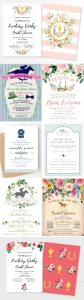 Kentucky Derby Bridal Shower Invitations
