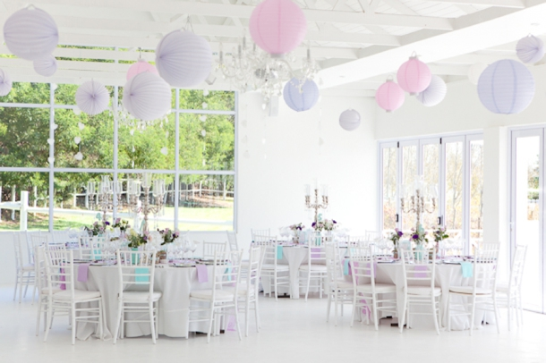 Mint Lilac Pastel Wedding By Veronique Photography