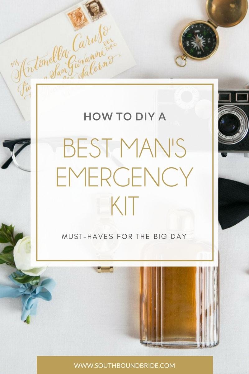 Best Man's Emergency Kit | SouthBound Bride
