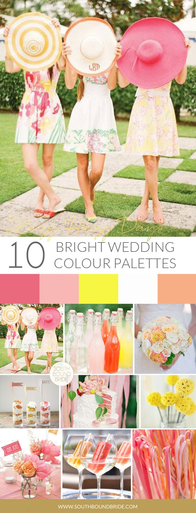 Summer Garden Party Wedding Inspiration Board | SouthBound Bride