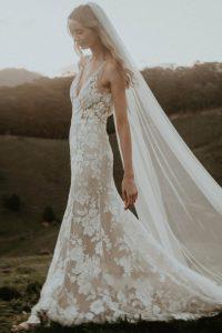 Wedding Dress For Tube Shaped Body