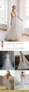 Wedding Dress For Banana Body Shape
