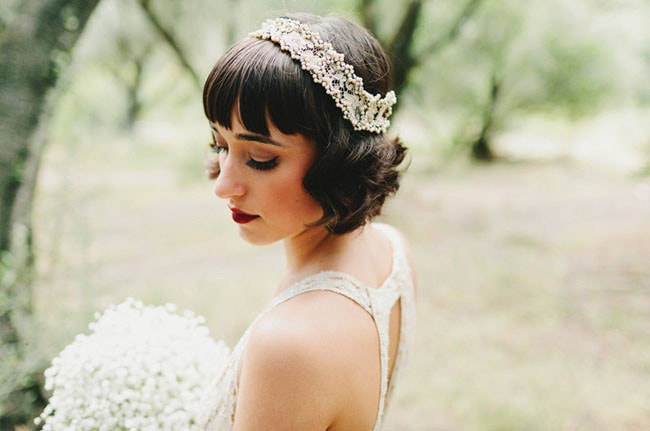 Gatsby Bridal Style