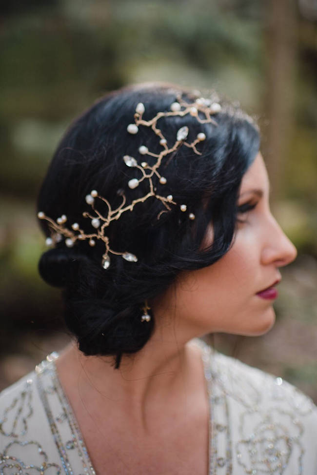 Great Gatsby Bridal Hairpiece