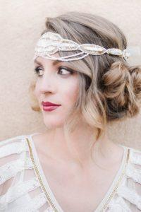 Gatsby hairpiece
