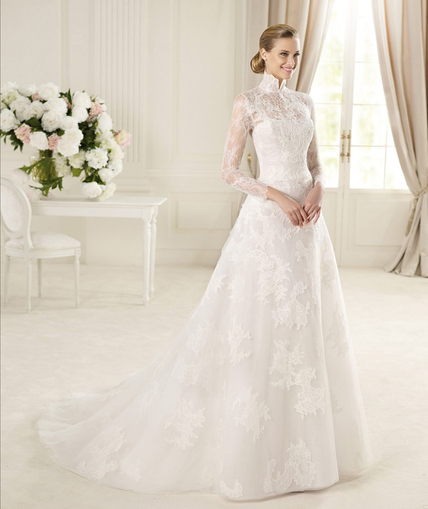 White Wedding Dress Queen Victoria: Victorian Style Lace Wedding Dresses