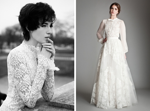 Victorian Lace Wedding Dresses