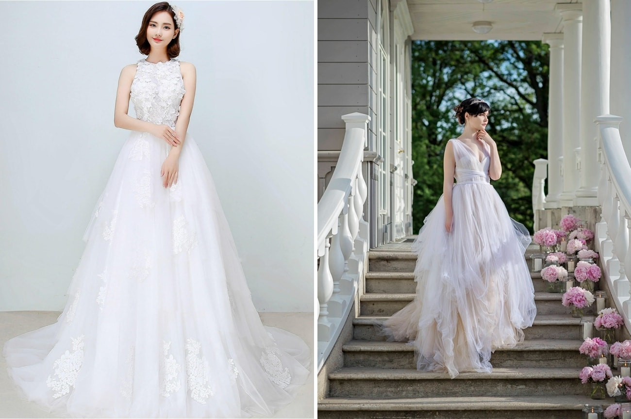 Wedding Dress For Inverted Triangle Shape