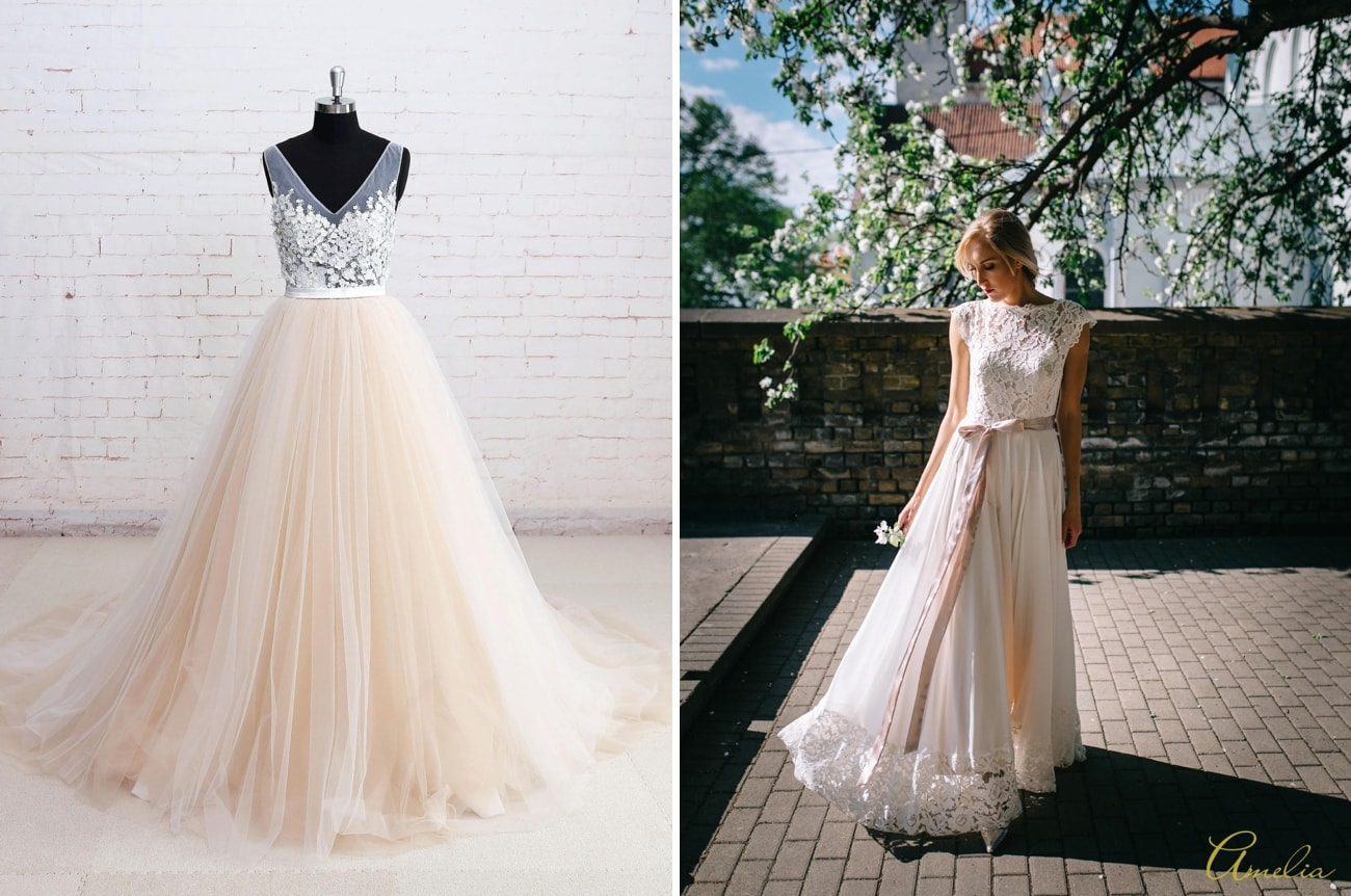 Best Wedding Dress For Inverted Triangle Shape