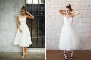 Wedding Dress For Strawberry Shape