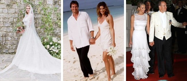 Celebrity Wedding Dresses For Inverted Triangle Body Shape