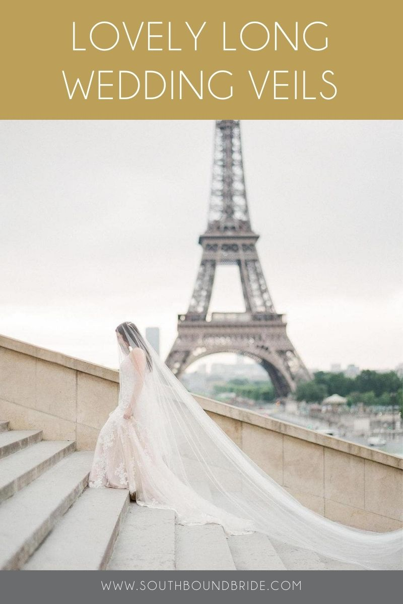 Cathedral Length Wedding Veils | SouthBound Bride