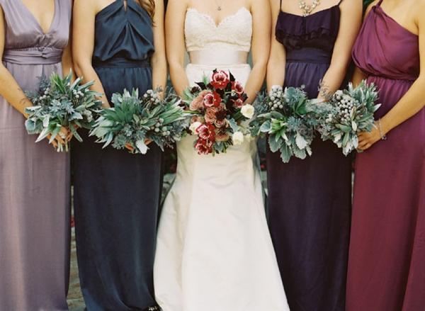 e4ff177ce658 Berry & Jewel Tone Bridesmaid Dresses | SouthBound Bride