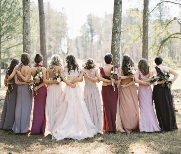 Berry & Jewel Tone Bridesmaid Dresses