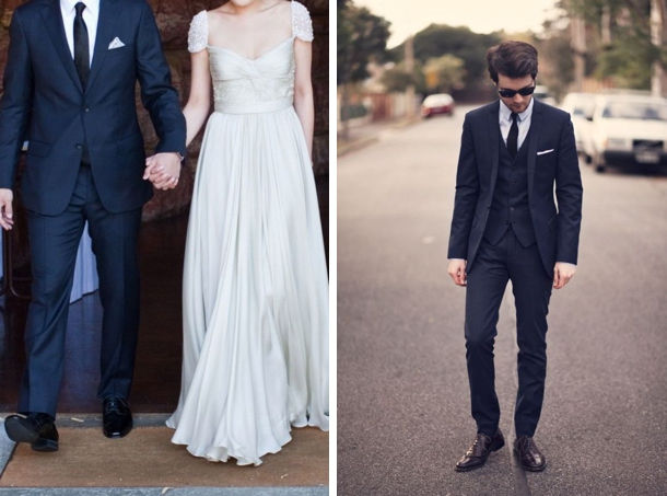 010 Southboundbride Navy Suits Grooms SouthBound Bride