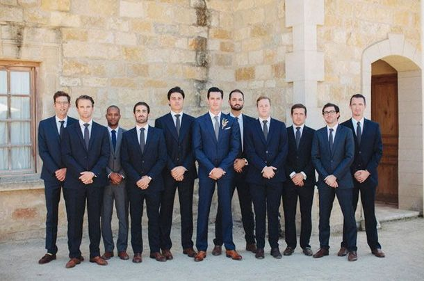 Navy Suit Wedding.25 Navy Suits For Stylish Grooms Southbound Bride