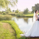 Elegant Watercolour Oxbow Estate Wedding by Howling Moon Photography {Annine & Pieter}