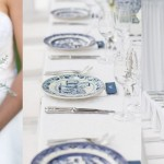 Delft Blue Glenshiel Wedding by Laurentia E. Photography {Elena & Liam}