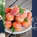 Inspiration Board: Navy, Peach & Apricot